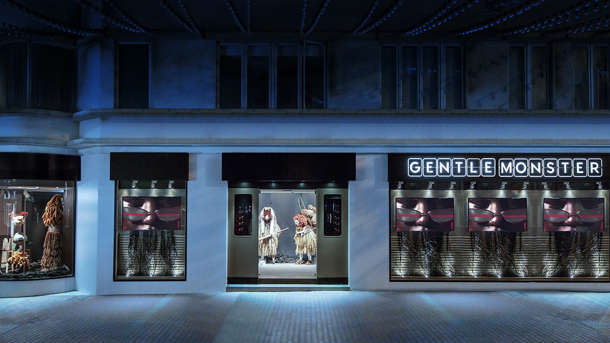 GENTLE MONSTER - Hong Kong, Hong Kong Store