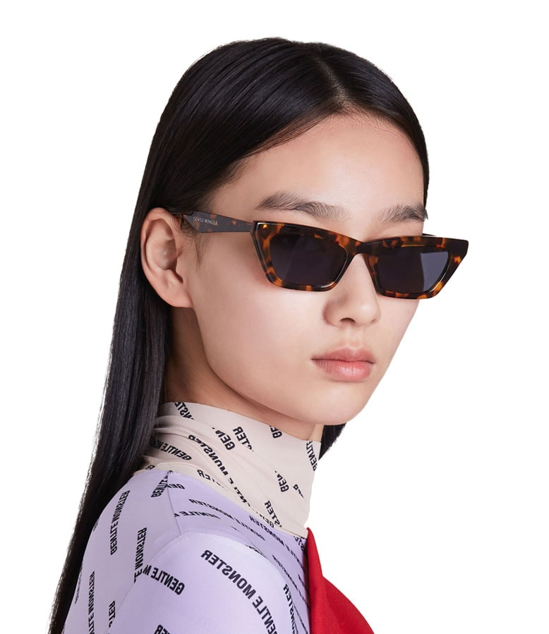 76ab7ce23 CHAPSSAL 033. Cat eye sunglasses with ...