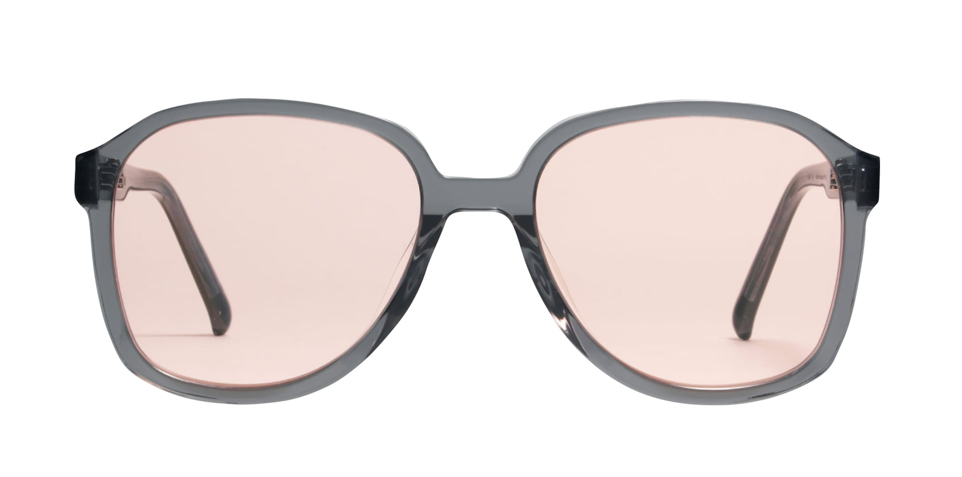b4318421f3a KING G1. Oversized aviator sunglasses with pink tinted lenses ...