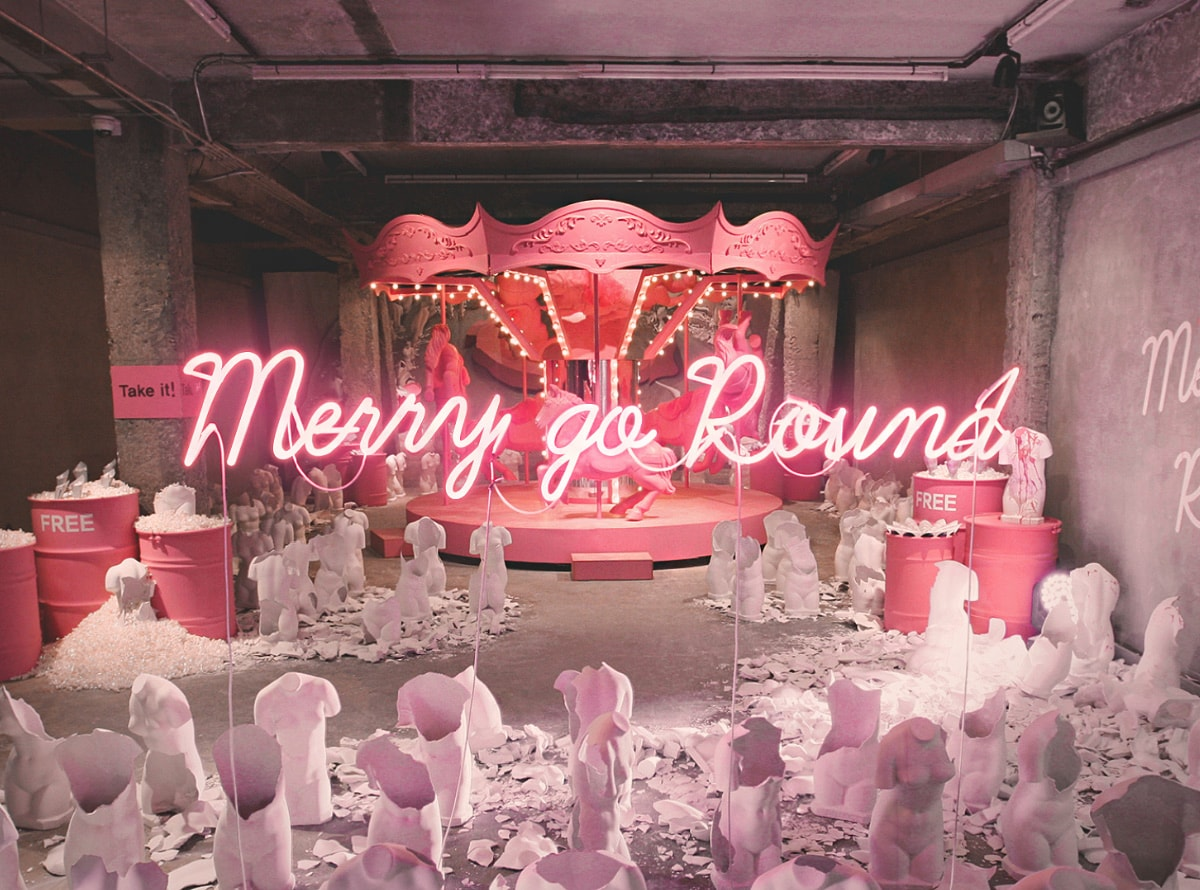 GENTLE MONSTER - Merry-go-round Project